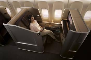 Singapore Airlines: Neuer First Class Sitz in der B777-300ER