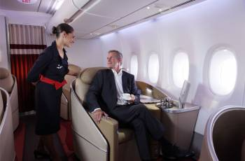 Air France: First Class Sitz