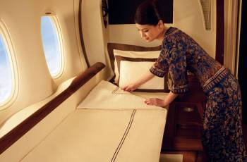 Singapore Airlines Suites im Airbus A380