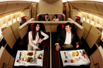 Die neue Air China First Suite in der B777-300