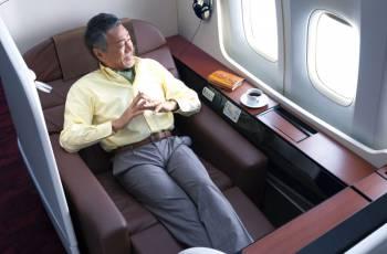 Japan Airlines: Detailansicht der neuen JAL First Class Suite