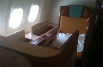 Oman Air: First Class Sitz im A330